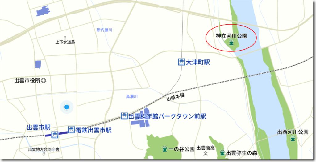 花火大会地図